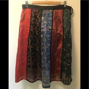 Nepalis silk skirt, one of a kind